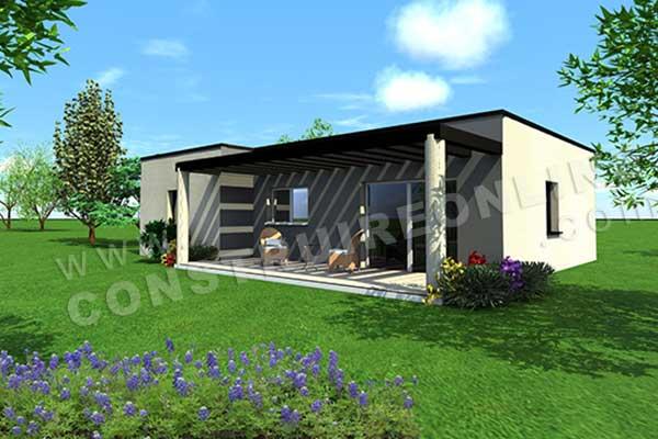 Plan de maison contemporaine quantic for Voir sa maison en 3d