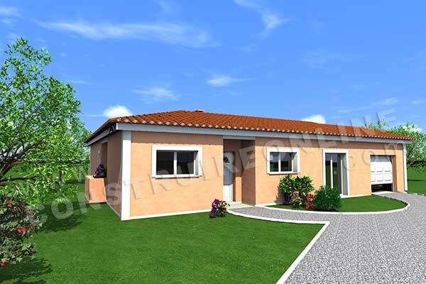 Plan de maison traditionnelle pivoine for Plan de maison traditionnelle gratuit