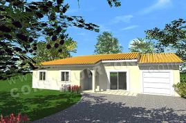 plan maison plain pied SWING 1