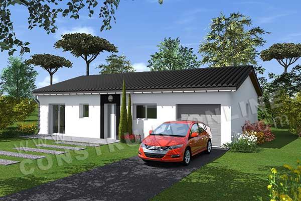 Plan de maison moderne season for Villa basse moderne