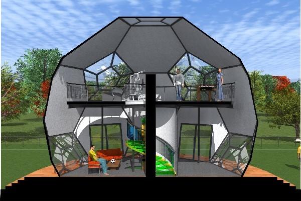 Plan de maison contemporaine coupe du monde 2014 for Modele maison sketchup