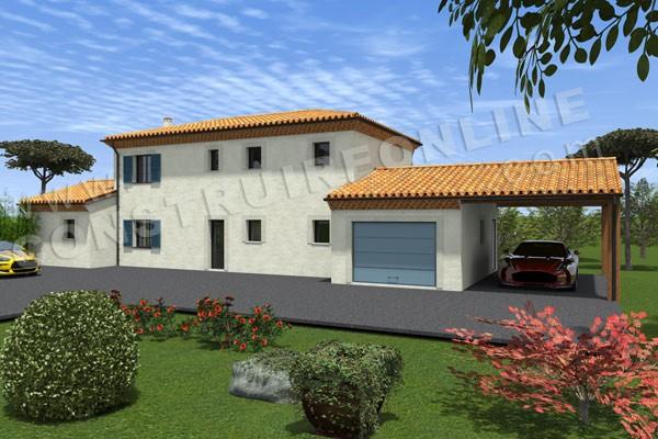 Plan maison bastide for Concevez vos propres plans de maison gratuitement