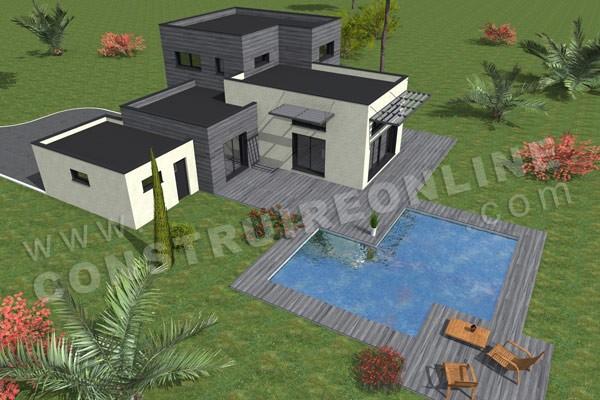 Plan de maison omega for Maison omega