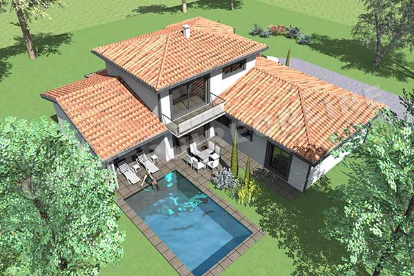 House Plan Moderne Lisbon