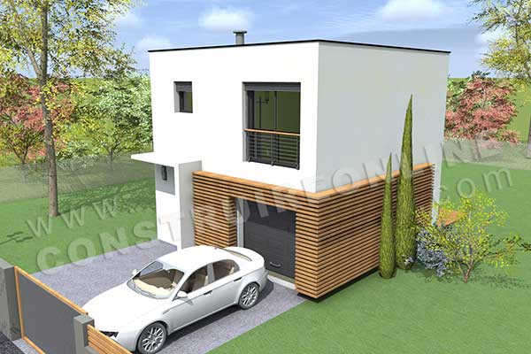 Vente de plan de maison petit budget for Budget pour construction garage