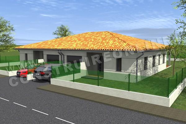 Plan de maison jumele simple plan de la maison with plan de maison jumele awesome cheap - Plan maison jumelee par le garage ...