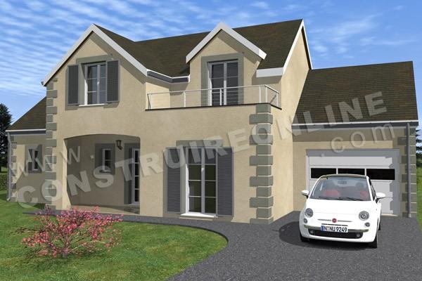 Plan de maison traditionnelle carrosse for Maison traditionnelle nord