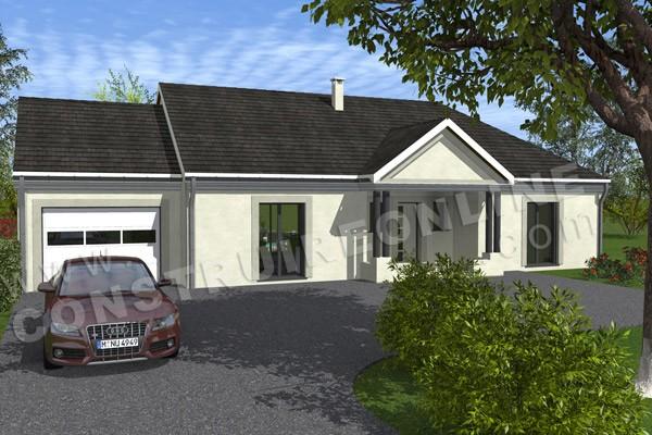 Plan de maison traditionnelle colony for Maison traditionnelle nord