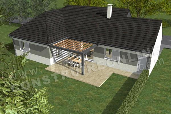 Plan de maison traditionnelle optima for Maison optima