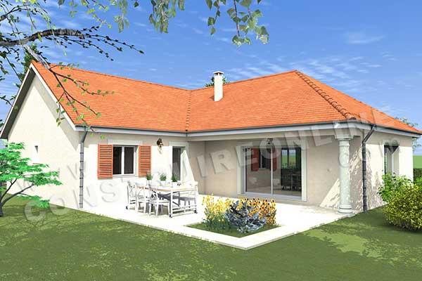 Plan de maison traditionnelle estival for Plan de maison traditionnelle gratuit