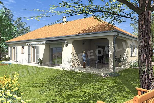 plan de maison traditionnelle cognac. Black Bedroom Furniture Sets. Home Design Ideas