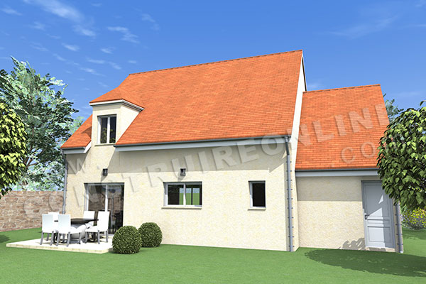 Plan de maison traditionnelle argot for Plan de maison traditionnelle gratuit