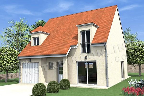 Plan de maison traditionnelle indigo for Plan de maison traditionnelle