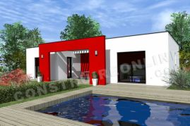 maison contemporaine en u 1