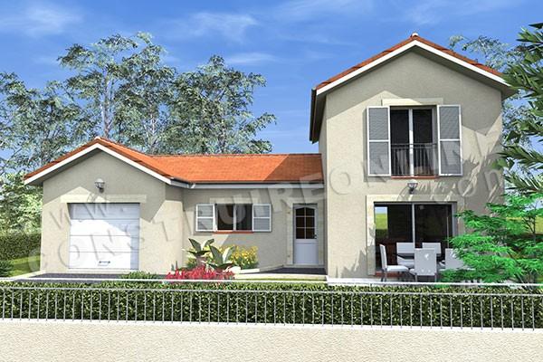 Plan de maison traditionnelle champetre for Modele maison champetre