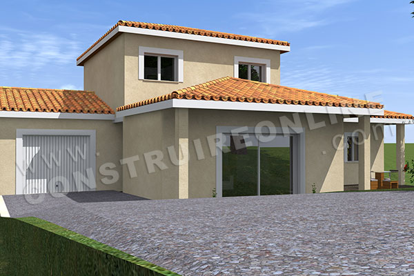 Plan de maison traditionnelle casanova for Maison casanova