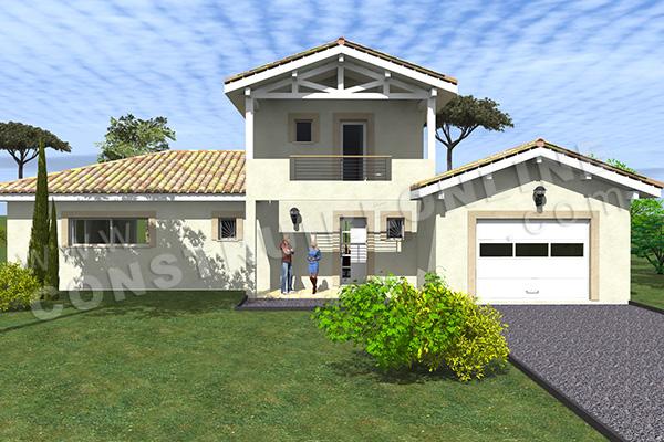 plan maison basque fabulous plan villa rhevtodcom de pays. Black Bedroom Furniture Sets. Home Design Ideas