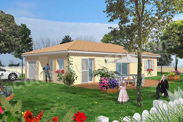 Plan de maison traditionnelle easy - Modele de plan de construction maison gratuit ...