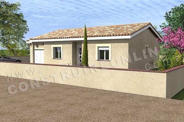 Plan de maison traditionnelle diva for Plan de maison traditionnelle gratuit