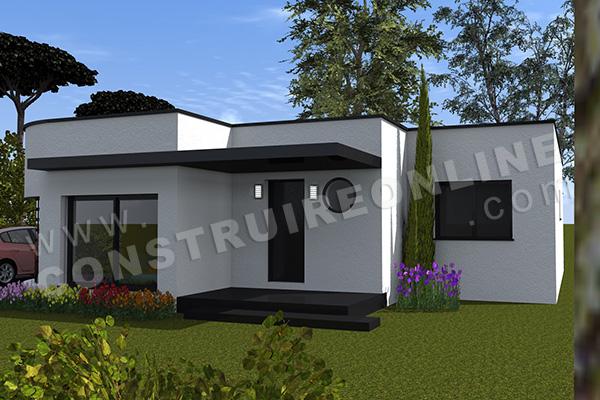 House Plan Contemporary Ronila