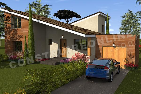 House Plan Modern Dogea