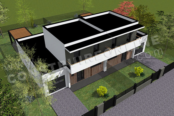 House Plan Contemporary Kent