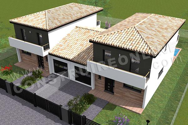 Plan De Maison Jumelee Par Le Garage Infos Et Ressources 6