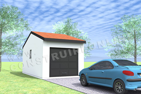 plan garage simple 1