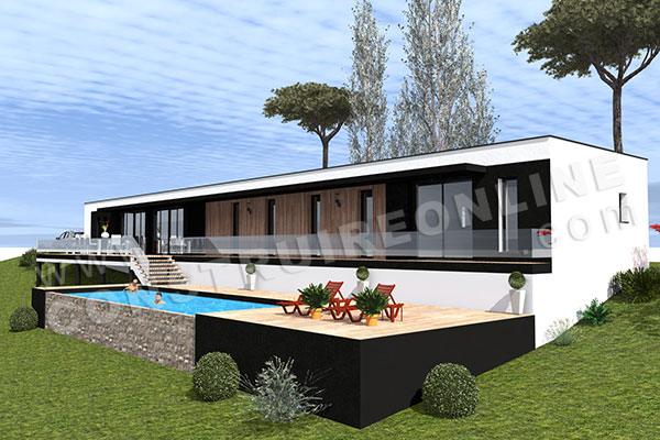 villa architecte contemporain RESIST 2