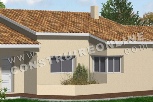 Plan de maison traditionnelle anagram - Modele de maison en v ...