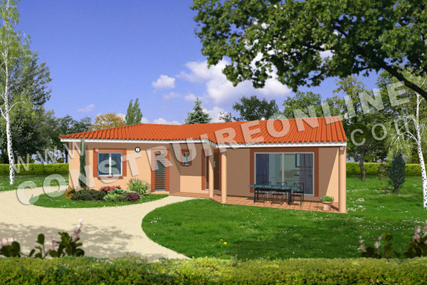 Vente de plan de maison for Exemple maison
