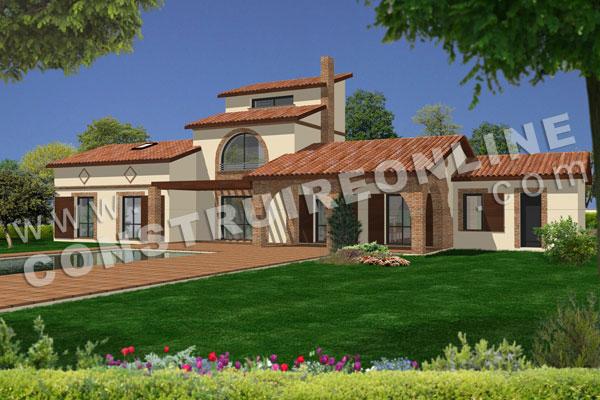 Charmant Plan De Maison A Etage OCCITANIA Vue 3d Idee