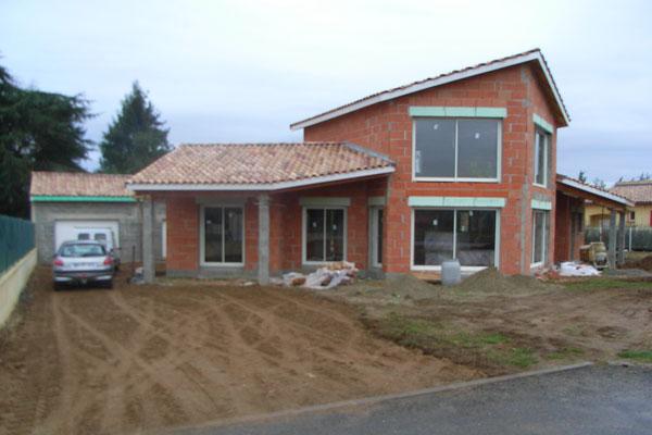 Plan de maison contemporaine spoutnik leika for Construction de maison 3d