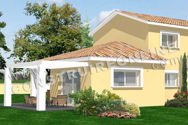 plan de maison traditionnelle georges 5. Black Bedroom Furniture Sets. Home Design Ideas