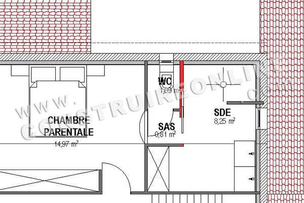 House plan Traditionnal ATLAS