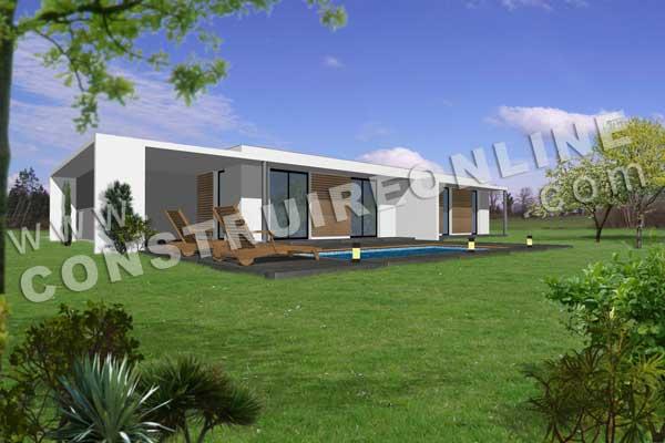 Vente de plan de maison d 39 architecte for Modele maison plan
