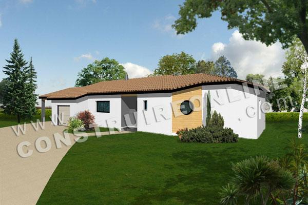 Vente de plan de maison petit budget for Annexe maison moderne