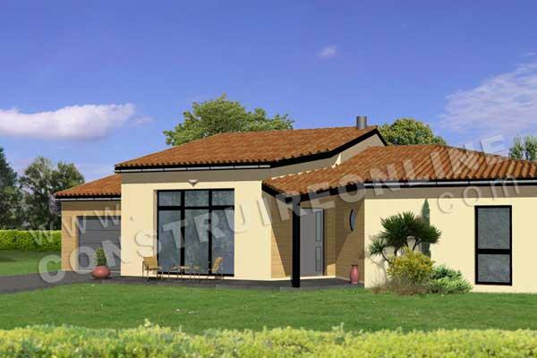 Plan de maison moderne iroquoise for Construction virtuelle maison gratuit