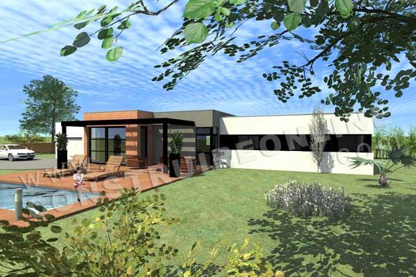 Plan de maison kracosy for Demo architecte 3d